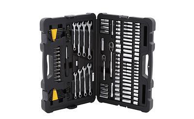 Mechanics Tool Set Kit 145-Piece Silver Multi-tool Hand Dura