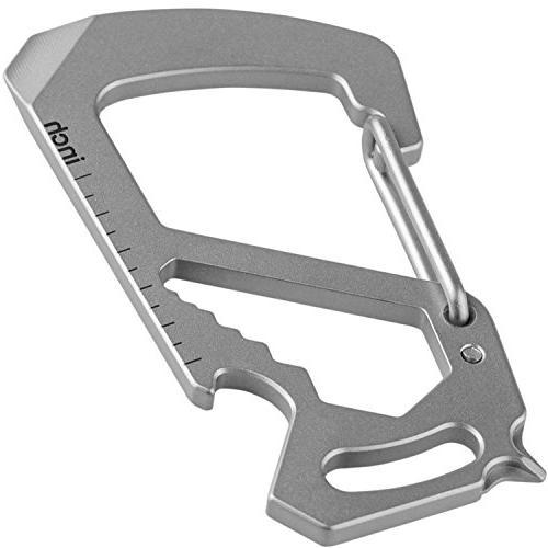 carabiner keychain titanium multitool