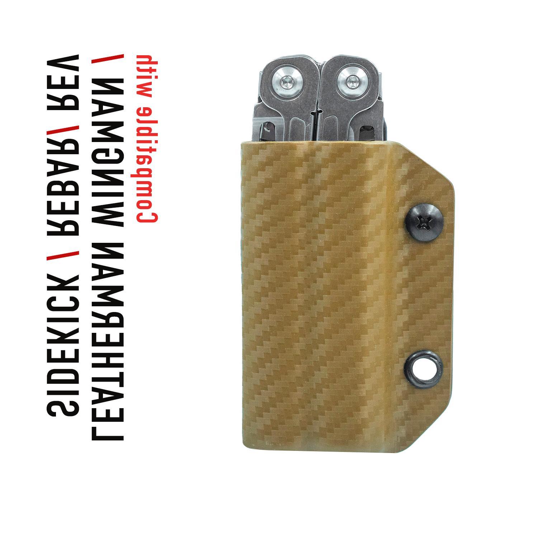 Kydex Multitool Leatherman WINGMAN/SIDEKICK/REBAR/REV - USA MADE