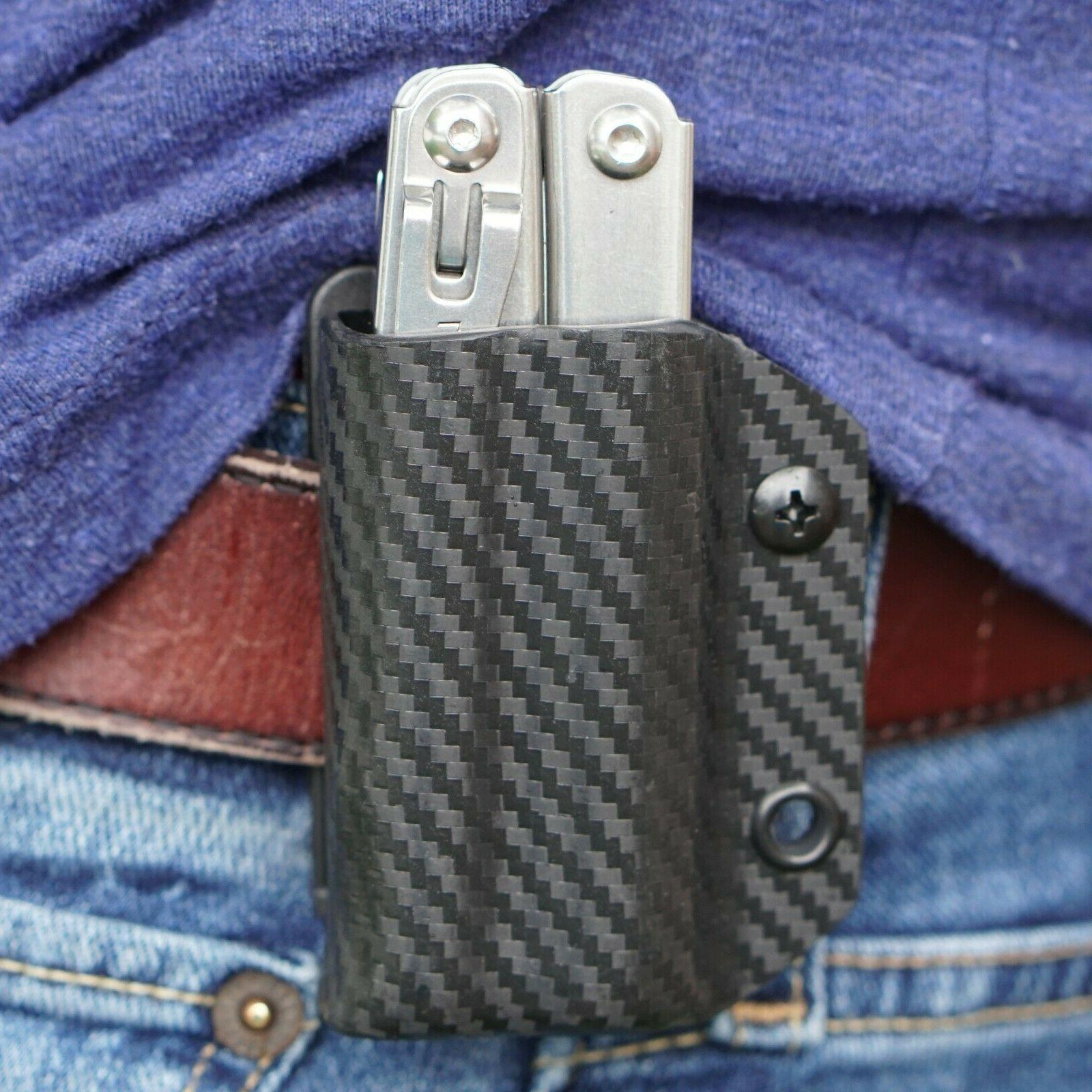clip and carry kydex multitool belt sheath