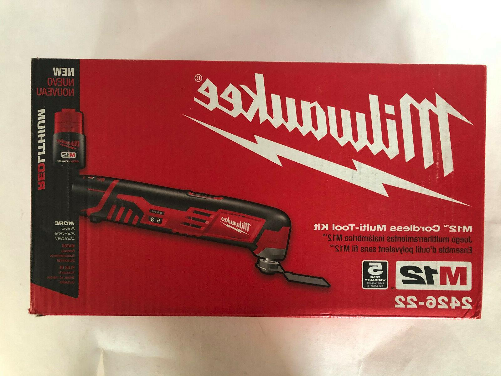 Milwaukee 2426-22 12V Cordless M12 Multi-Tool Kit