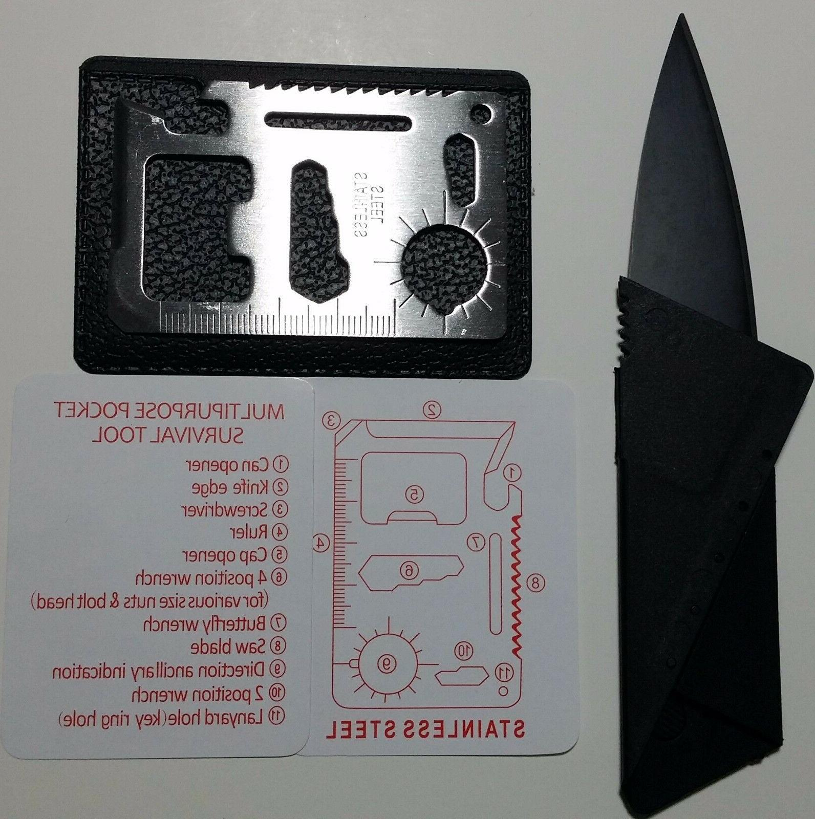 Credit Card Free Multi thin pocket survival