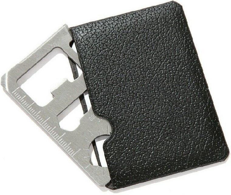 Credit Card in 1 Multi wallet pocket survival micro knife