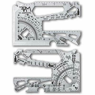 credit card multitool 60 tools in one