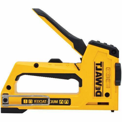 dewalt 5 in 1 multi tacker stapler