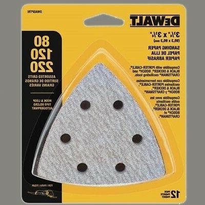 dwasptri hook loop triangle sandpaper