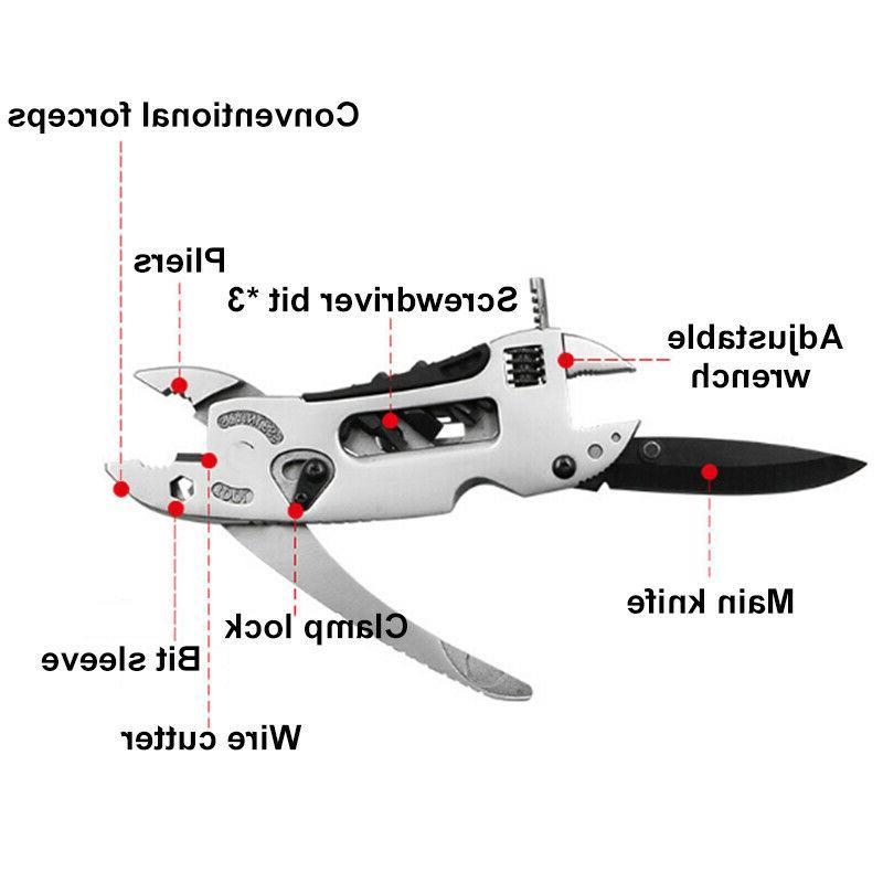 EDC Multi Adjustable Pliers Knife Jaw