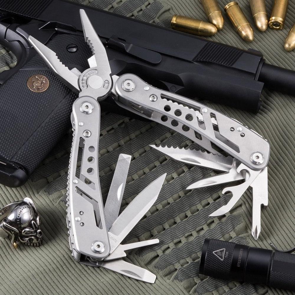 EDC Multitool <font><b>Tools</b></font> Army and kit camping equipment