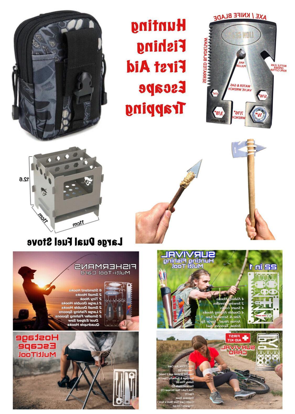 edc survival multi tool combo kit ultra