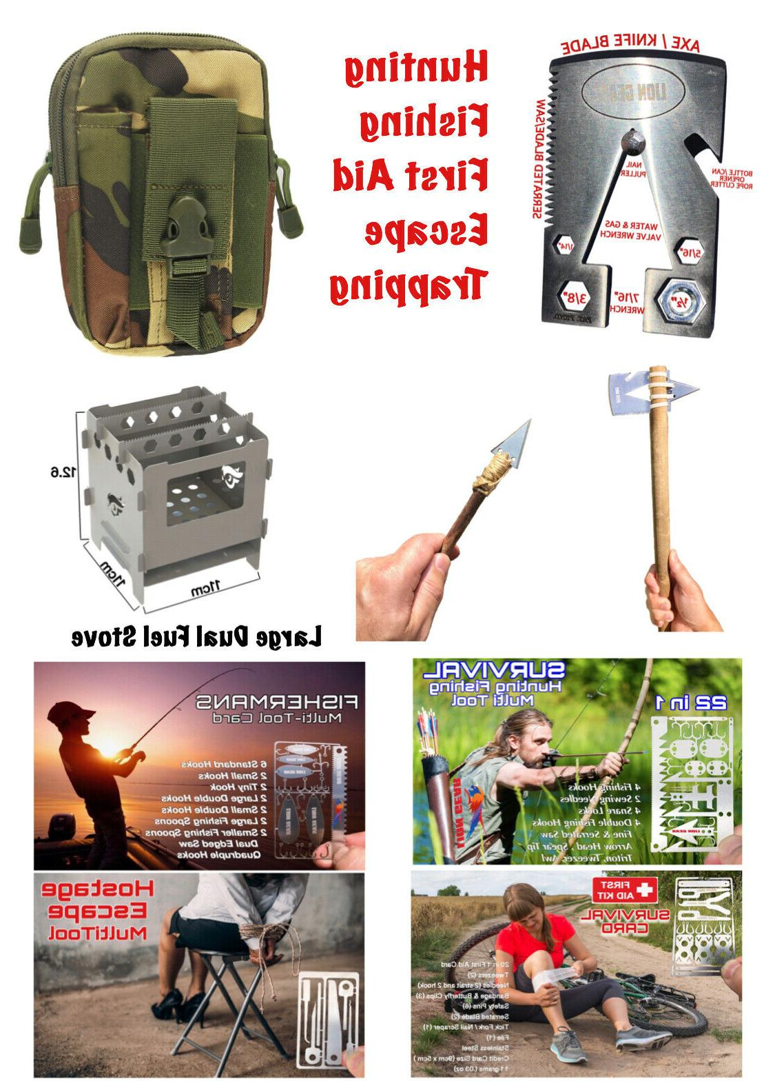 edc survival multi tool combo kit