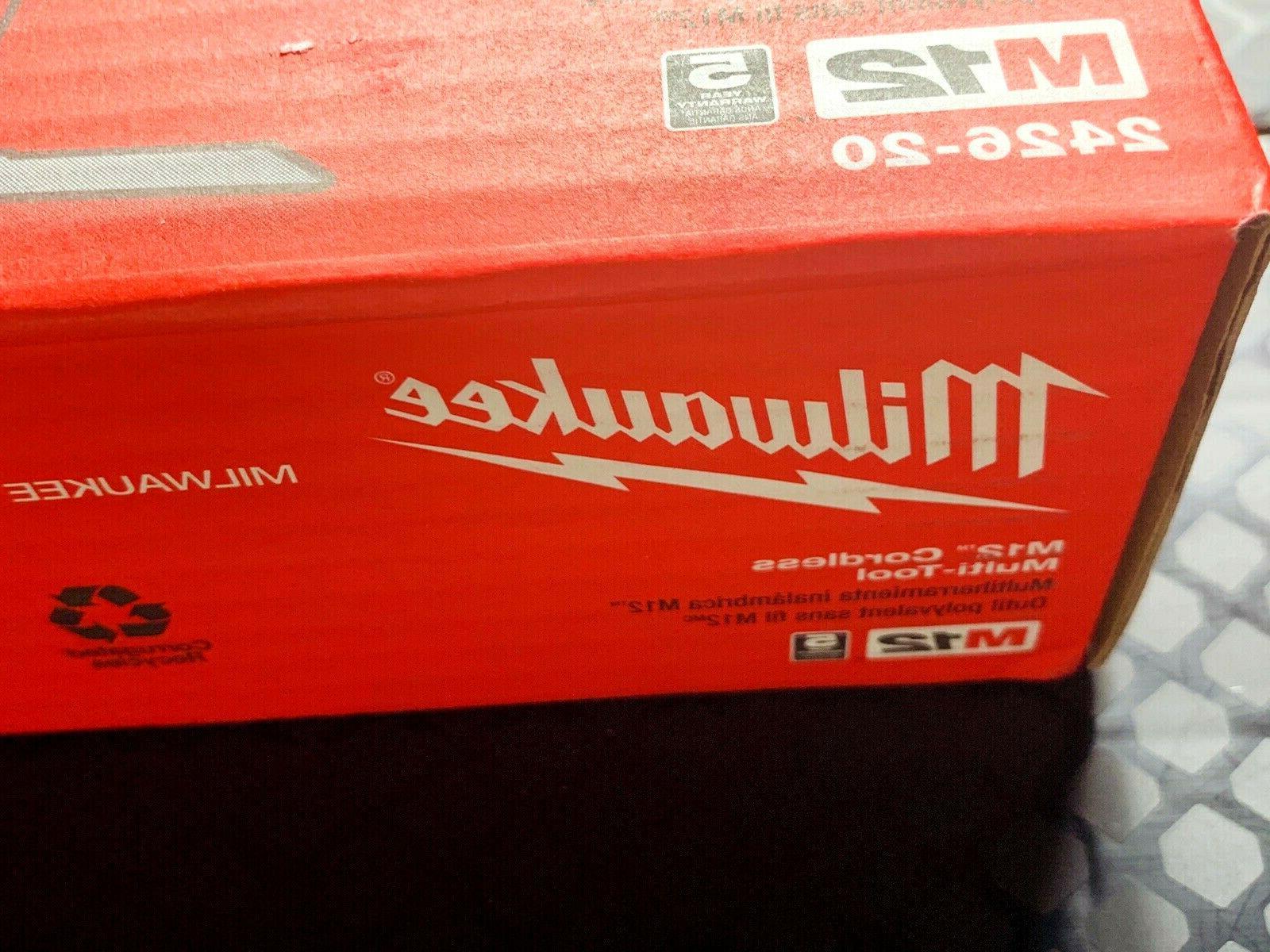 Genuine Milwaukee 12V LI Cordless Oscillating Multi-Tool