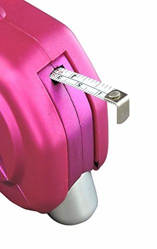 23 Integrated Bit Screwdriver Measure, Hammer-Pink