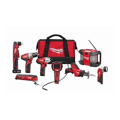 Milwaukee 2495-28 8 W/2 Cmpt 1 Xc Bat