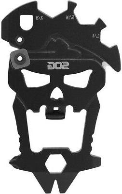 SOG MacV Multi-Tool 12 in 1 Stainless Steel Keychain Tool TS