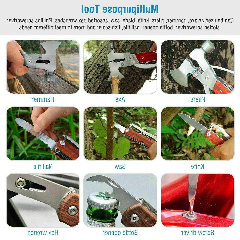 Multi Emergency Tools Axe Hatchet Hammer