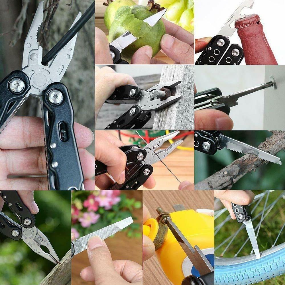 Multi Pliers Saw Folding Knives Multitool Screwdriver Set