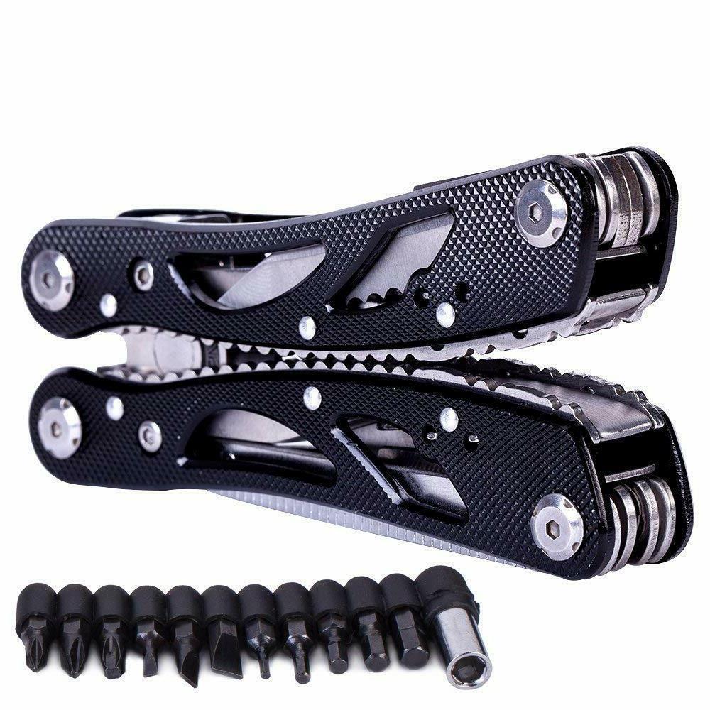 Multi Knife Pliers Saw Kit Folding Knives Multitool & Set