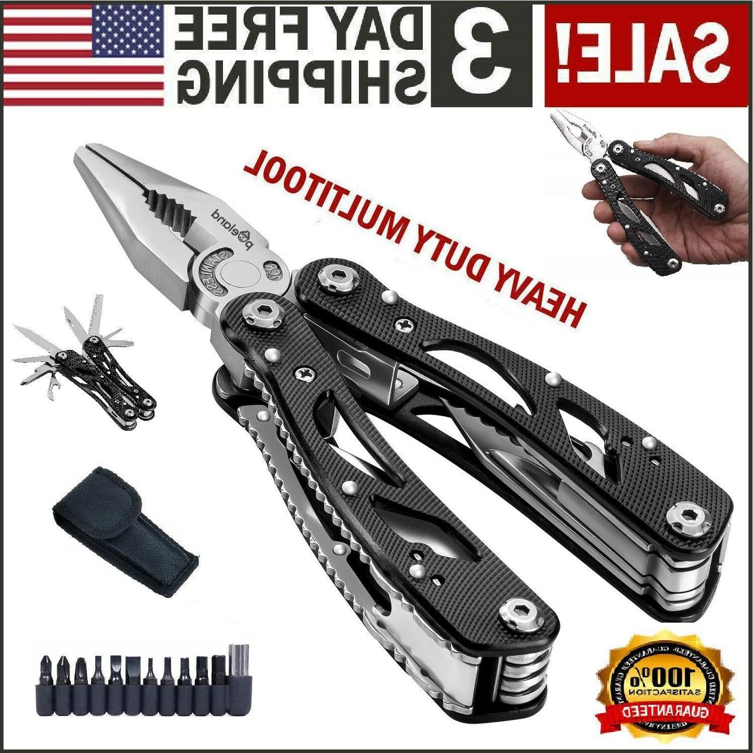 multi tool knife pliers saw kit folding