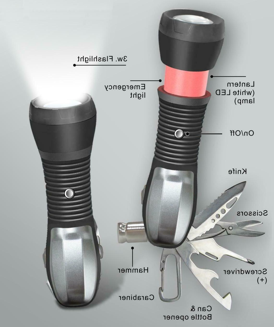 multi tool led flashlight all in one