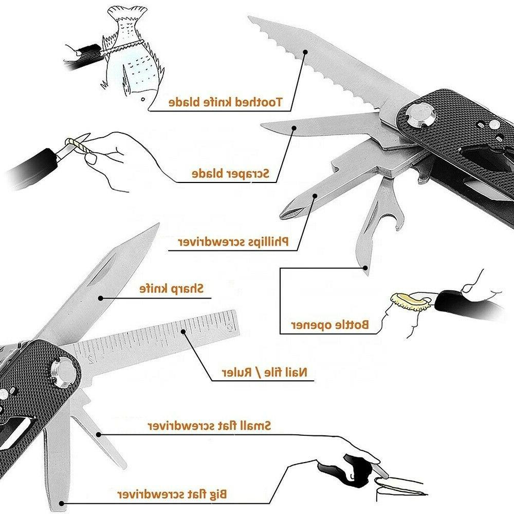 Multi Tool With 11 Screwdriver