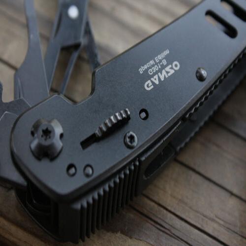 Multi Tools 301-B Black Multi Toolkit 22in1 Knife