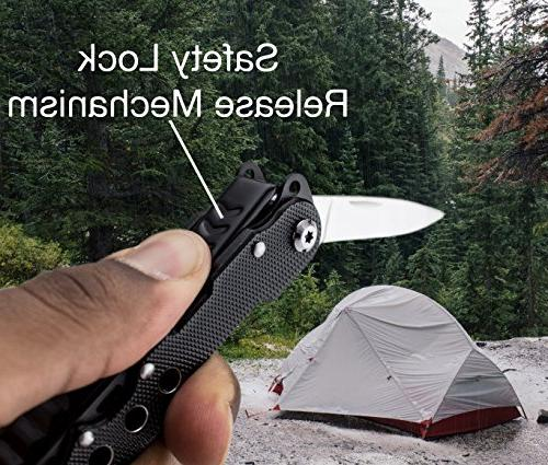 Bastex Knife Multi-Purpose Pocket Plier Durable Multi-tool Survival, Hunting, and Hiking
