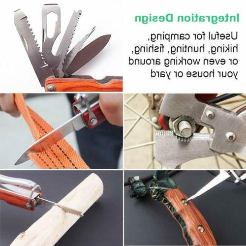 Multitool Pliers Saw Outdoor Camping Knives