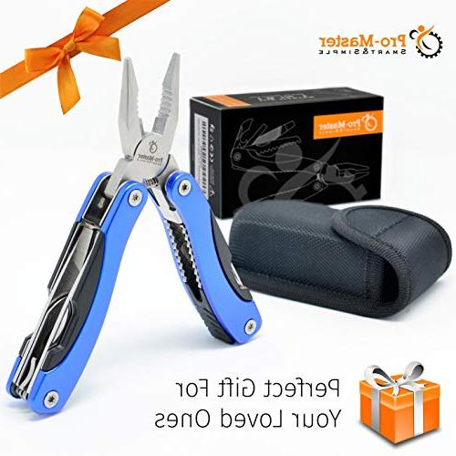 BEST Multitool Knife. in 1 Portable Multifunctional Multi Tool. Saw, Sheath. Fishing, Hunting, Hiking, Set.