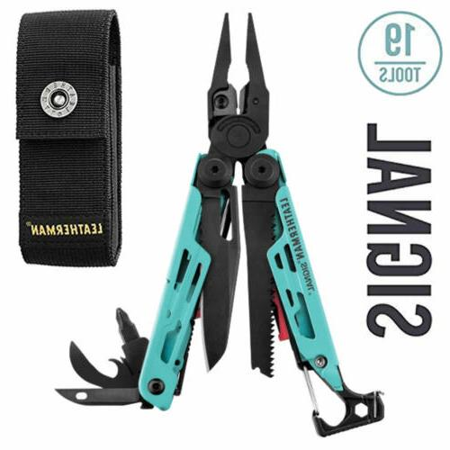 new signal survival multi tool aqua blue
