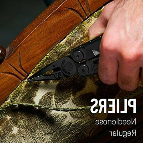 ~NEW~ Leatherman Multi-Tool, Black w/ & Sheath