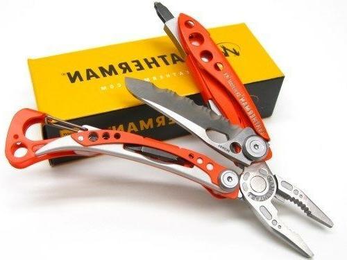 LEATHERMAN Orange RX Stainless Knife!