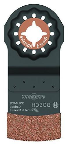 Bosch OSL114CG 1-1/4 in. Starlock Carbide Grit Plunge Cut Bl