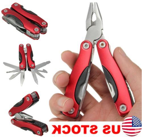 outdoor survival stainless steel multi tool plier