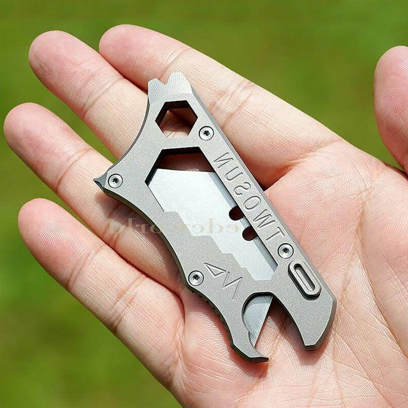 Outdoor TC4 Multi Tools Opener Knife EDC