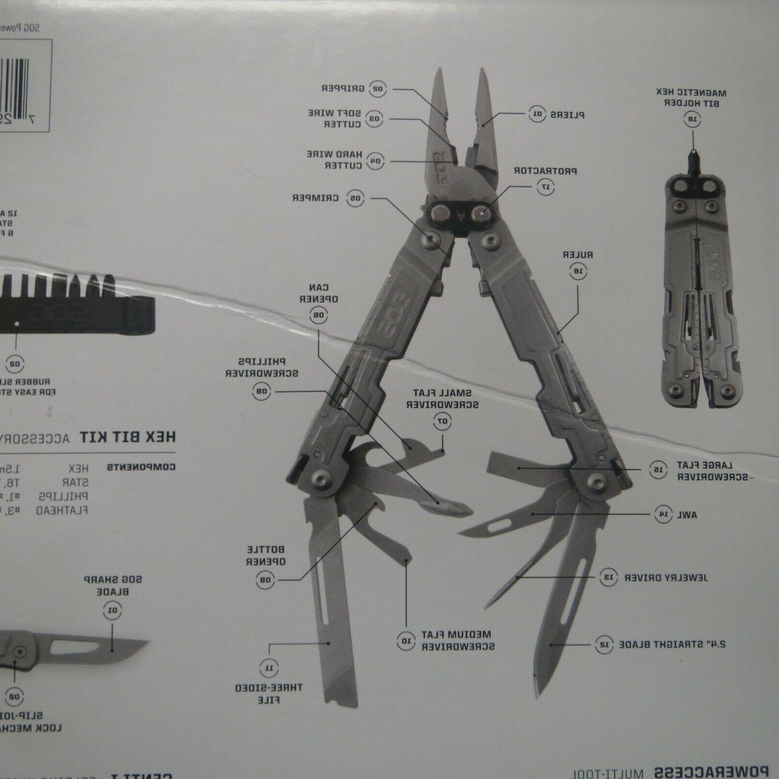 SOG Multi-tool Bonus Kit HexBit ~NEW