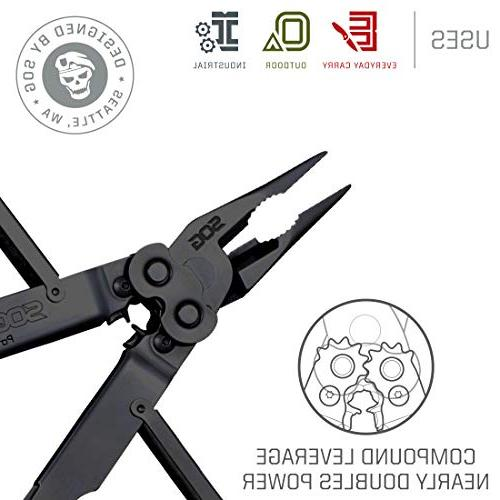 SOG Multitool Pliers and Hand Tools – EOD 2x with 18 Specialty +
