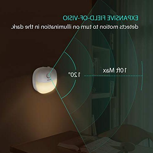 Newild LED Light Warm White nightlight Motion Kitchen, Bathroom, Bedroom, Li-Polymer