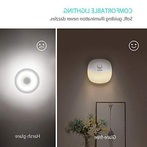 Newild Rechargeable Light Warm Motion for Hallway, Kitchen, Li-Polymer 2-Packs