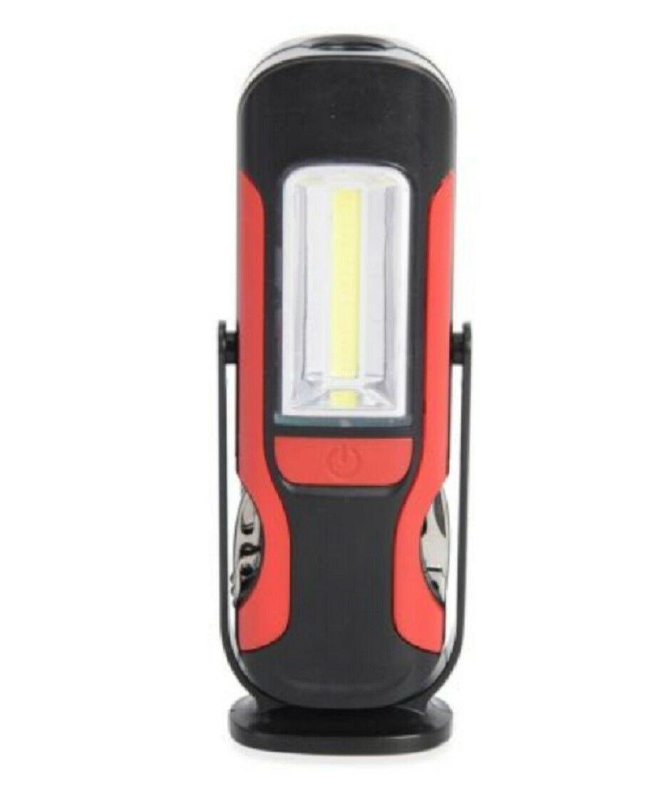 red multi tools working led flashlight alarm