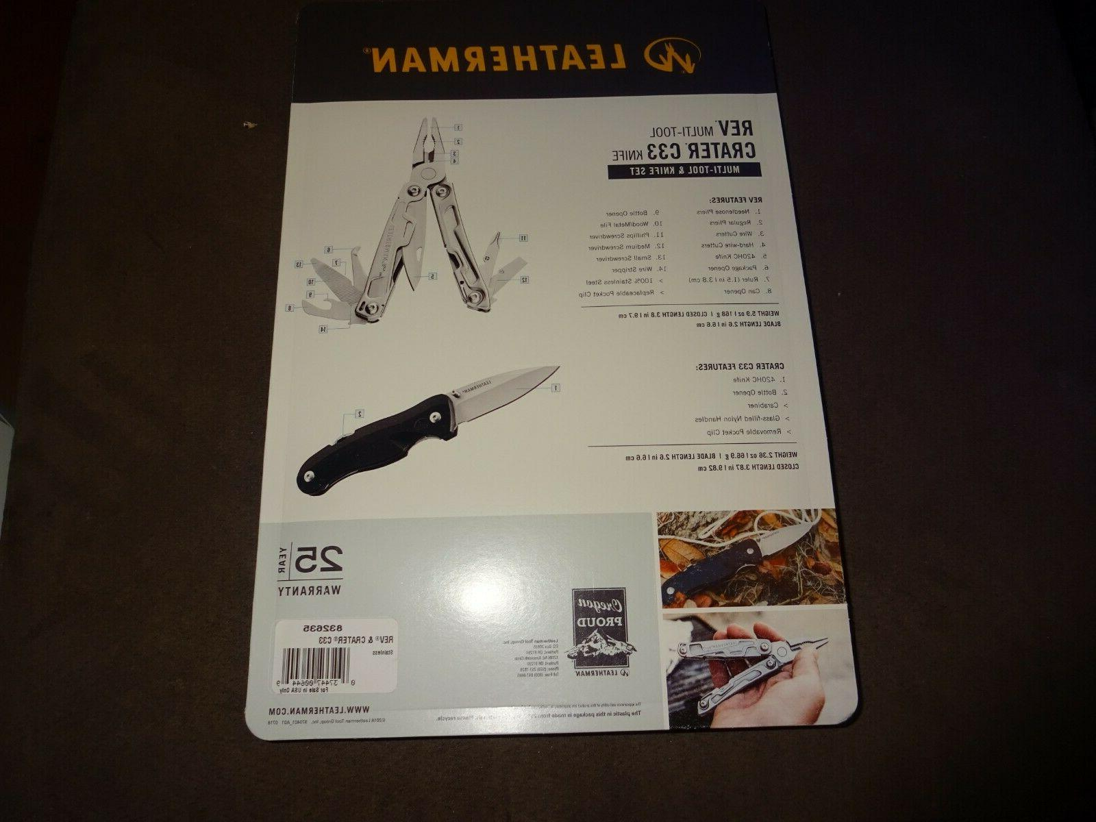 Leatherman C33 MultiTool Knife