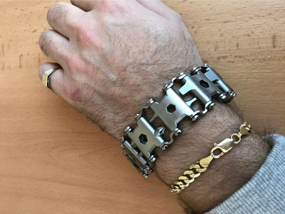 sale multi functional multitool bracelet as a