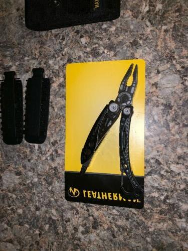 Leatherman Skeletool Multi-Tool 7 Tools in 1 Nylon Sheath Kit