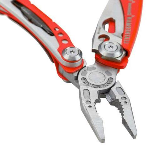 Leatherman Rescue With Sheath Red