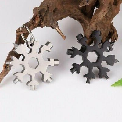Portable 18-in-1 Multi-tool Compact Outdoor Tool