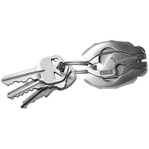 Swiss+Tech Polished 9-in-1 with Pliers Keychain