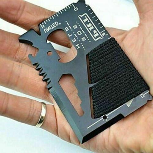 Stainless Steel Tool 14 in Multi Survival Camping Tools
