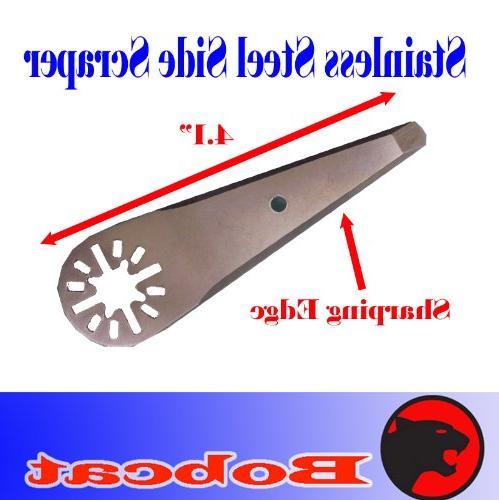stainless steel side scraper