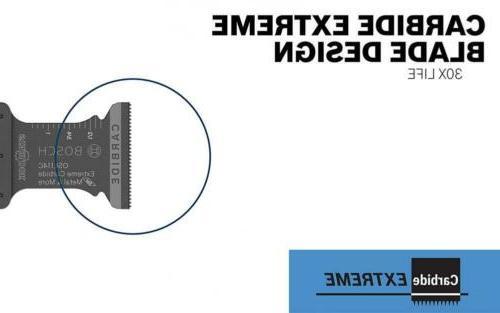 Bosch Starlock Carbide Cut Oscillating Multi-Tool Set,