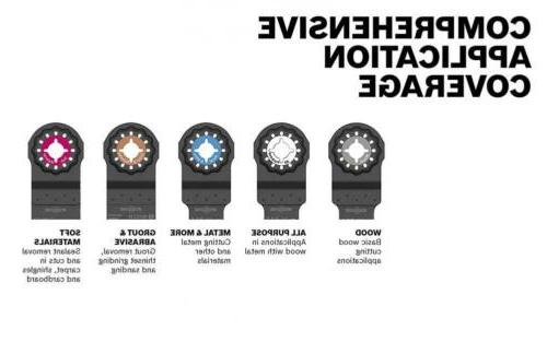 "Bosch Starlock Carbide Cut Multi-Tool Set, 1-1/4""..."