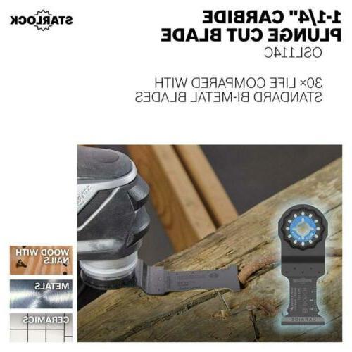 Bosch Starlock Cut Blade Set,